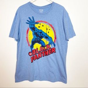 Marvel Black Panther Graphic Tee T-Shirt Blue